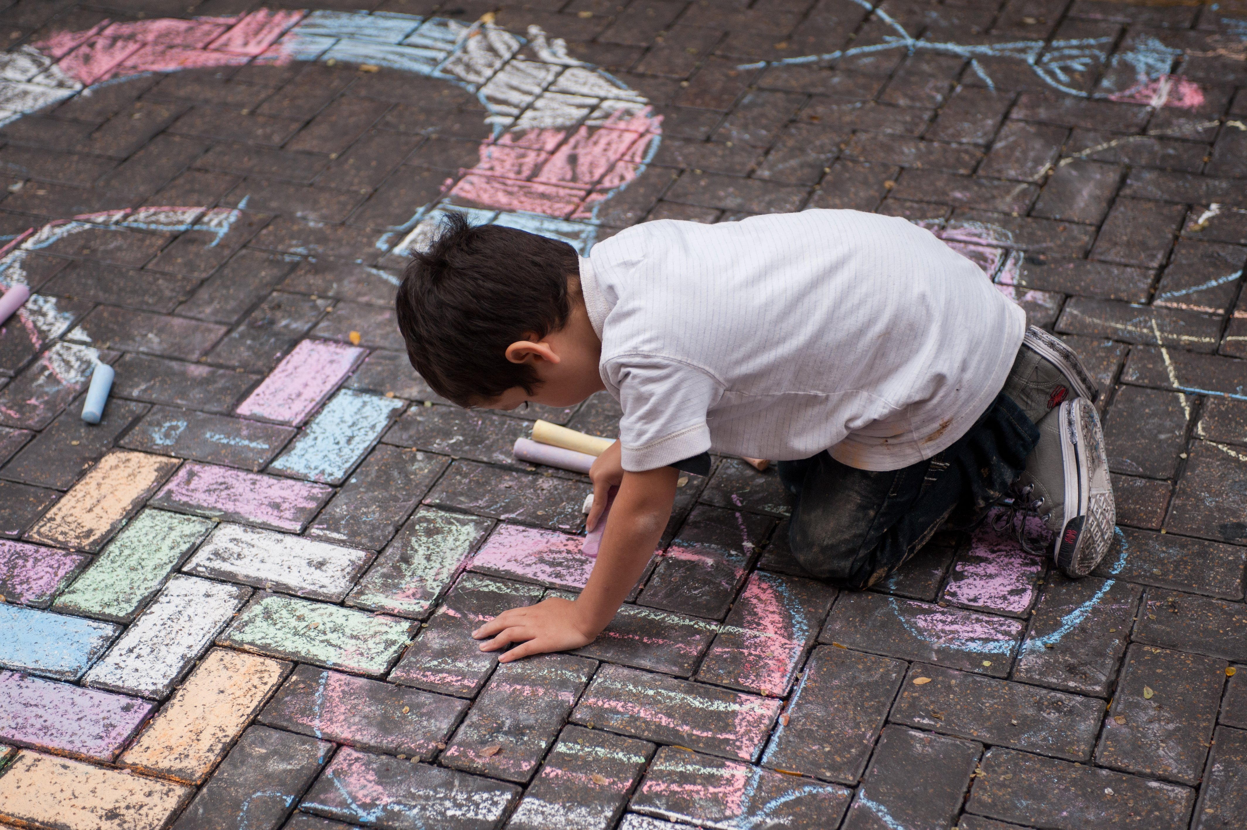 Boy at Chalk It Up